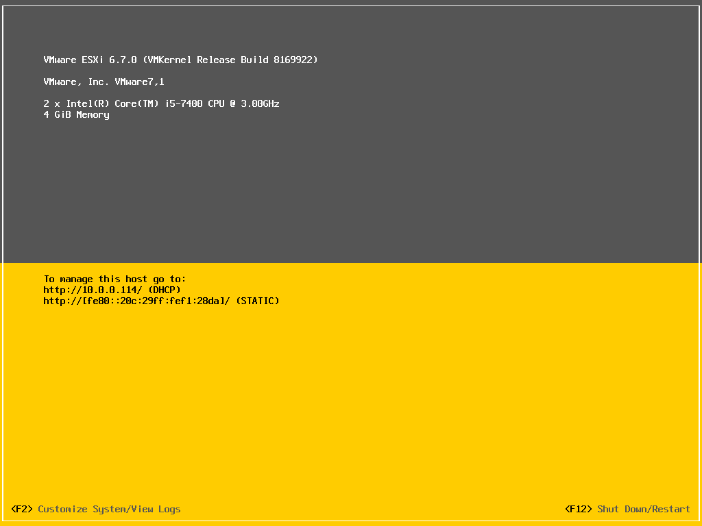 安装 VMware ESXi 6.7 系统插图14